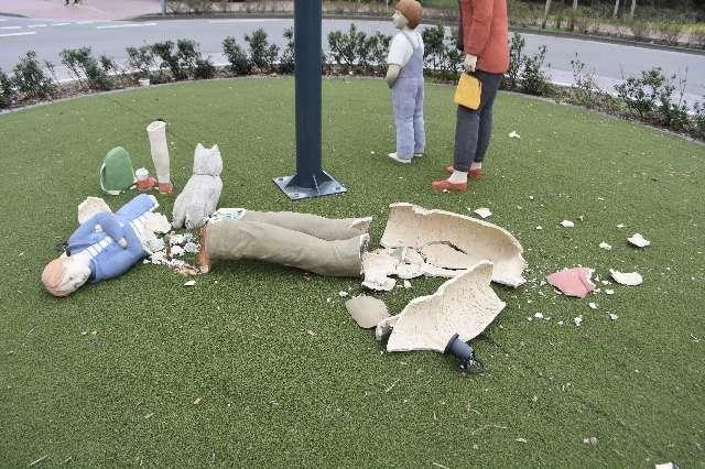 Sögel - Tatverdächtiger nach Sachbeschädigung am Kreisverkehr ermittelt - Foto: Polizei