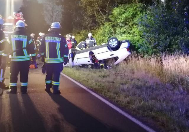 Geeste Aktuell: 23-jährige bei Unfall auf der Füchtenfelder Straße verletzt - fOTO. nORDnEWS:DE