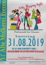 31. August 2019 - Lady Shopping Night - 18-21 Uhr - Foto: Impulse