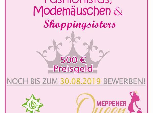 """Meppens """"Queen of Shopping"""" – Bewerbungsfrist verlängert"""