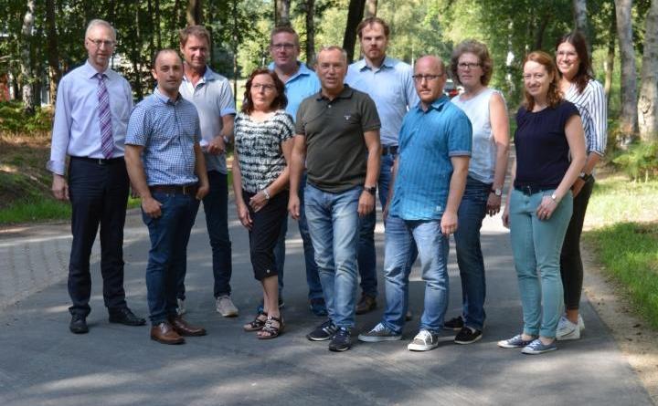 Erfolgreicher Ausbau des Wirtschaftsweges Geestmoor in der Gemeinde Geeste - Foto: Gemeinde Geeste