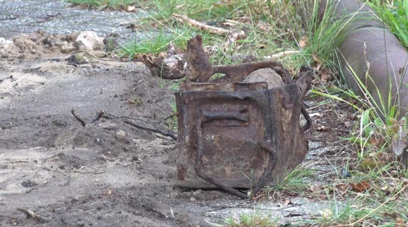 Lingen Aktuell - Granaten aus dem Zweiten Weltkrieg gefunden - Foto: NordNews.de