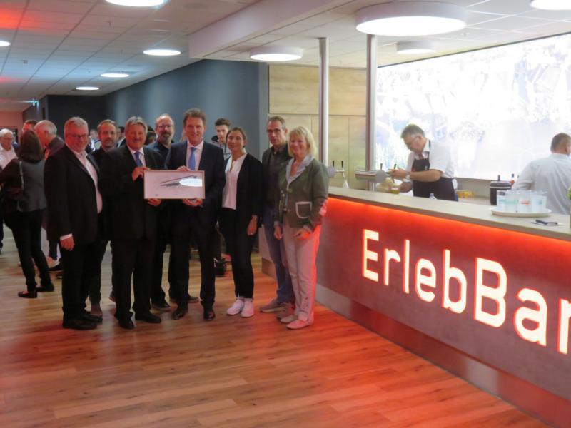 ErlebBar in der EmslandArena eröffnet - hlüssige und wichtige Folgeinvestition von 1,8 Millionen Euro - Foto: Stadt Lingen