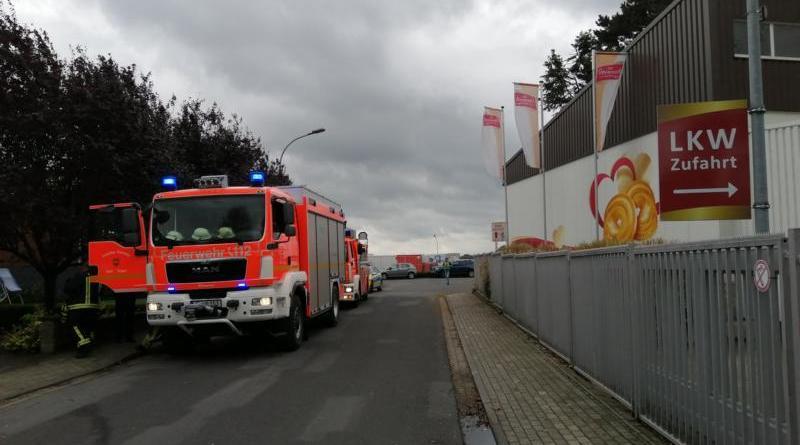 Geeste AKTUELL - eine leicht verletzte Person bei Brand in Keksfabrik - Foto: NordNews.de