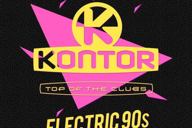 VARIOUS ARTISTS ''KONTOR TOP OF THE CLUBS – ELECTRIC 90s'' -