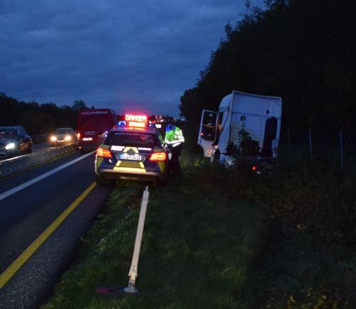 Geeste - Unfall im Baustellenbereich. Foto: Polizei