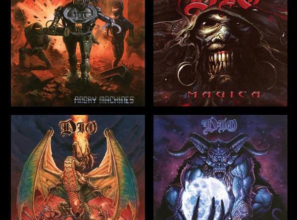 DIO - Die Studio Album Sammlung: 1996 – 2004 - VÖ: 21. Februar 2020 - Rare Live Tracks sofort verfügbar!