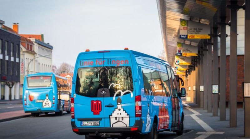Auch am 28. Dezember können Fahrgäste kostenlos mit dem LiLi-Bus in Lingen fahren (Foto: Helmut Kramer).
