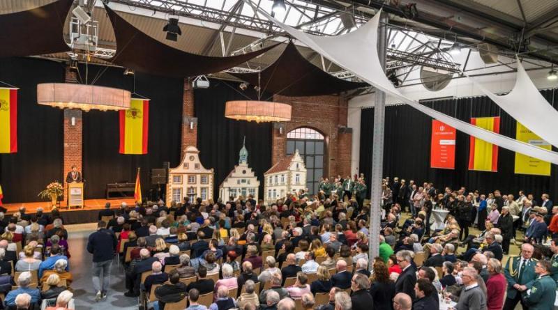Bürgerempfang der Stadt Lingen (Ems) am 12. Januar. Foto: Richard Heskapm