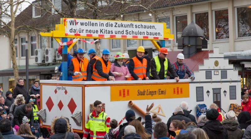 Lingener Familienkarneval – großer Umzug am 16. Februar 2020 - Foto: Karl-Heinz Berger