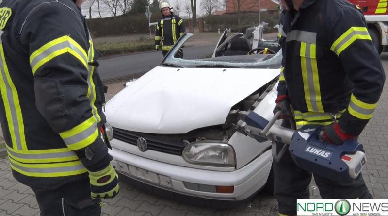 Übung der Ortsfeuerwehr Groß Hesepe - Foto: NordNews.de - Feuerwehr2 Übersicht