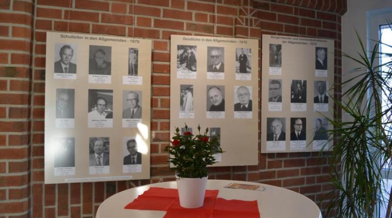 Erinnerungen an das Jahr 1970 werden in der Ausstellung durch Bilder und Texte wachgerufen. Foto: Gemeinde Geeste