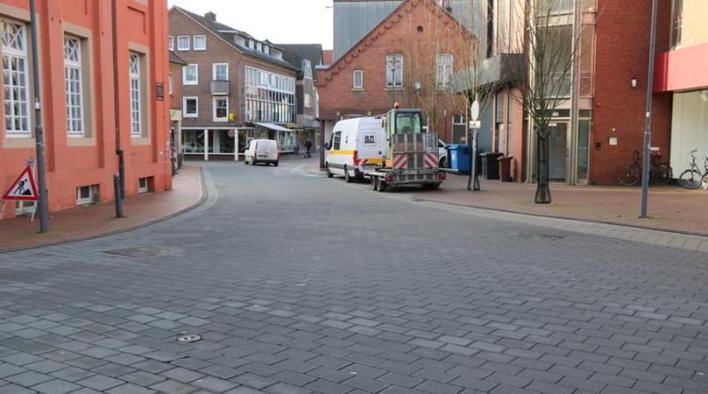 Aufgrund von Pflasterarbeiten wird die Obergerichtsstraße am 4. Februar halbseitig gesperrt. Foto: Stadt Meppen