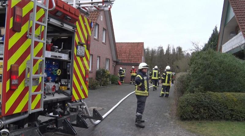 Feuerwehreinsatz in Dalum - Essen auf Herd - Foto: NordNews.de