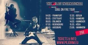 """""""The Last Internationale"""" - die erstmalige Deutschland-Tour im März 2020"""