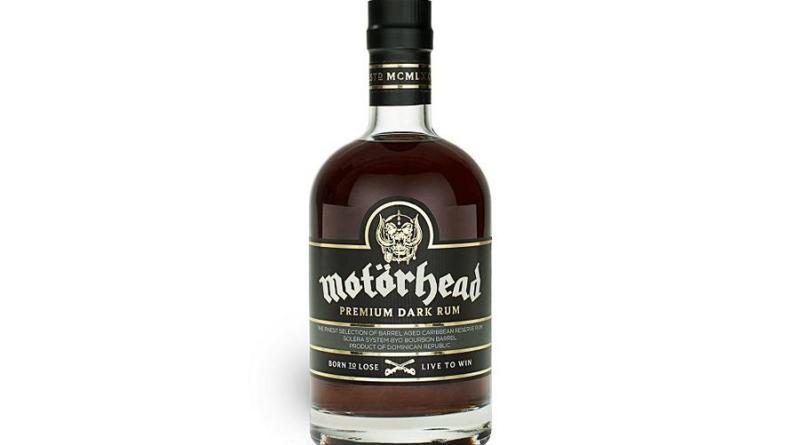 Motörheads Premium Dark Rum Gewinner des Gold Award Bester Rum 2020 - Hebt euer Glas auf Lemmy!