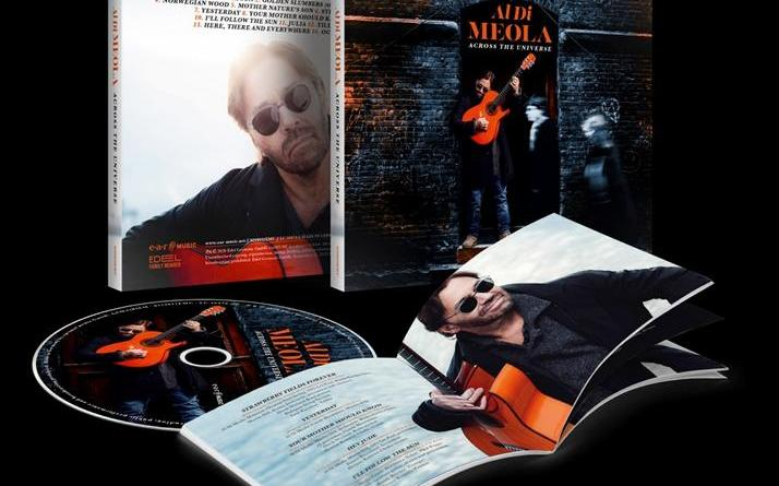 """AL DI MEOLA mit Beatles-Song """"Here Comes The Sun"""" und Youtube-Prelistening """"Across The Universe"""""""