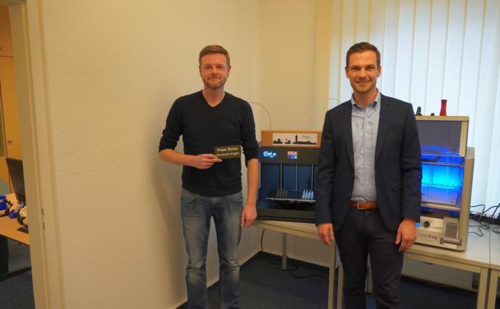 """""""3D-Druck Lingen"""" neu gestartet - Peter Korte macht Hobby zum Beruf - Foto: Stadt Lingen"""