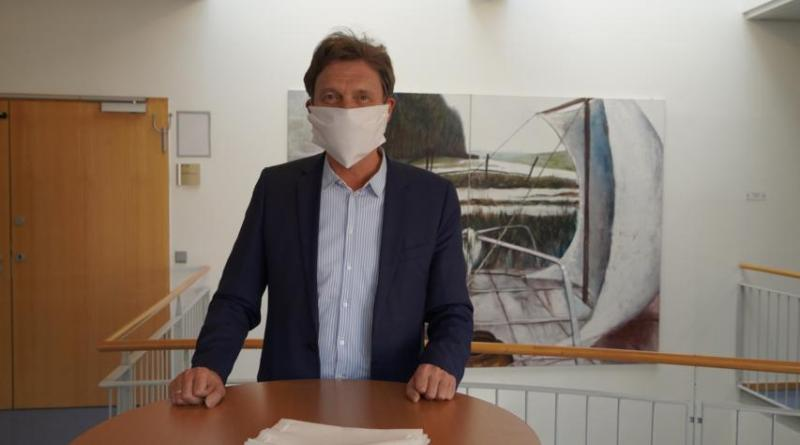 Ausgabe der Mund-Nase-Masken bis Samstag verlängert - Maskenpflicht in Niedersachsen - Foto: Stadt Lingen