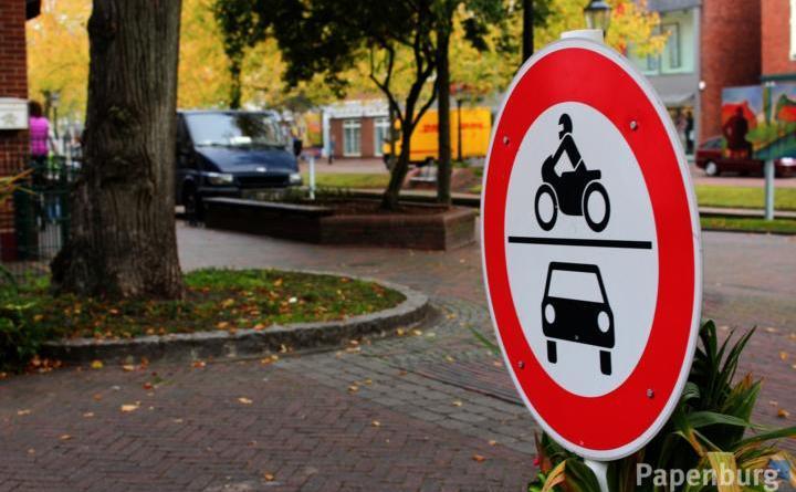 Stadtmitte für Kraftfahrzeuge gesperrt - Foto: Stadt Papenburg