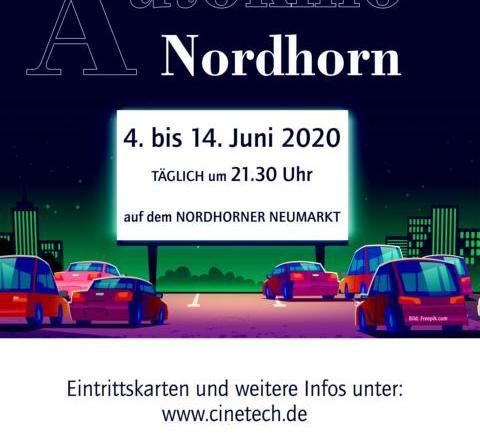VVV und Kulturreferat holen das Autokino nach Nordhorn - Ab dem 4. Juni 2020 startet Cinetech Rheine auf dem Neumarkt mit Filmangebot - Foto: Stadt Nordhorn
