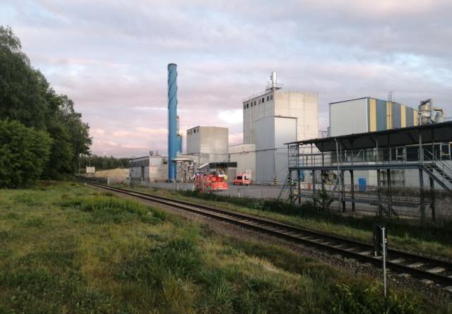 Aktuell: Meppen - Brand in einer Halle eines Industriebetriebes - Foto: NordNews.de