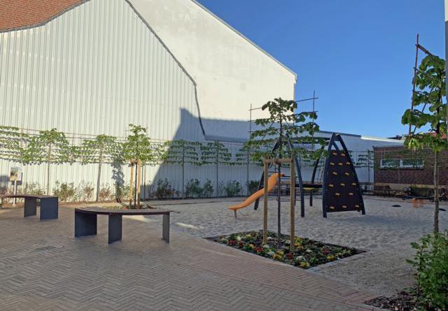 Nach der Öffnung der Spielplätze in Niedersachsen können die Kinder auch den neuen Spielplatz an der Langen Straße in Haren (Ems) nutzen. Foto: Stadt Haren (Ems)