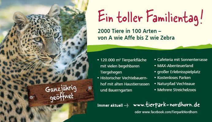 Wir sind Zoo! Gemeinsam mit dem Tierpark