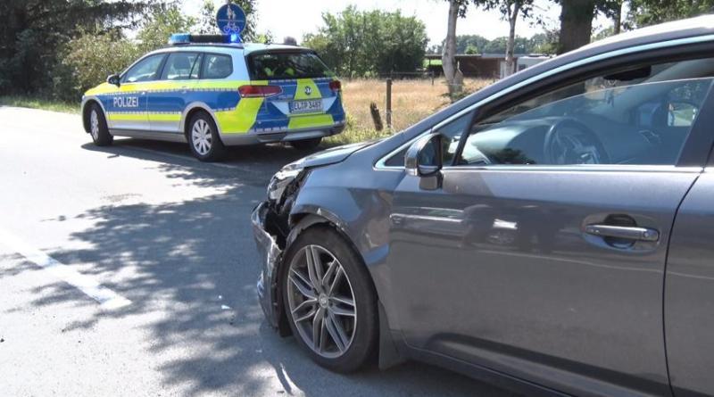 Geeste - Zwei Verletzte nach Unfall zwischen Groß Hesepe und Dalum - Foto: NordNews.de