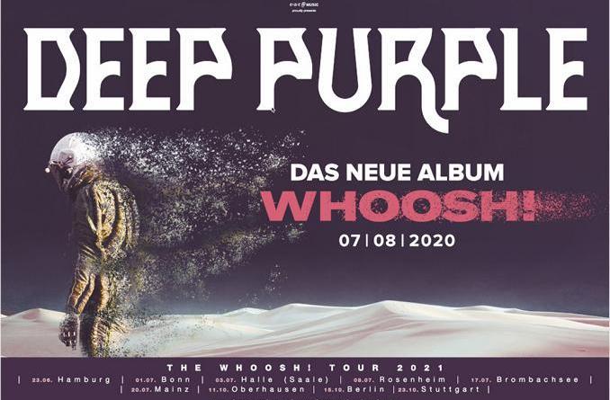 """DEEP PURPLE veröffentlichen die 3. Single """"Nothing At All"""" von ihrem kommenden Album """"Whoosh!"""""""
