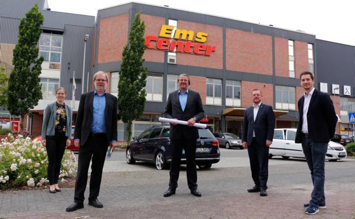 Ems-Center wird abgerissen – Neubau geplant - Foto: Stadt Papenburg