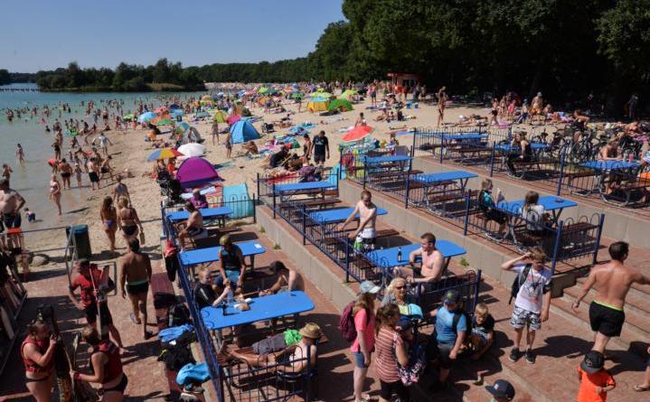 Zu viele Gäste am Dankern See machen das Eingreifen der Behörden nötig. Foto: Stadt Haren (Ems)