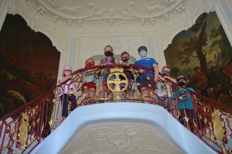 Mit Schlossgespenst auf Märchenreise - Ferienpassaktion Schloss Clemenswerth - Foto: Kim Jakobi
