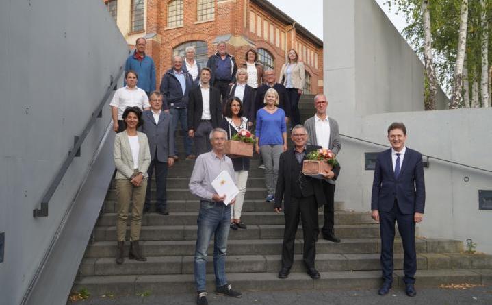 """Lingener Kulturpreis 2019/2020 geht an Joachim Diedrichs und den St. Bonifatius Chor Lingen - OB Krone: """"Sie sind herausragende Musikpfeiler unser Stadt"""" - Foto: Stadt Lingen"""