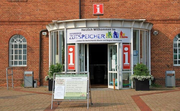Tourist-Info Papenburg: Zeitspeicher schließt, Meyers Mühle teilweise geschlossen