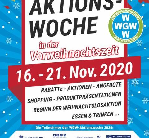 WGW-Aktionswoche vom 16. - 21. Nov. 2020 - Foto: Wirtschaft Innovation Nordwest