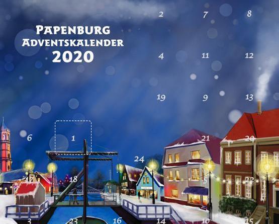 Papenburg Marktplatz/Papenburg Gutschein goes Adventskalender - Foto: Stadt Papenburg