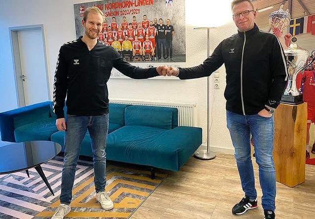 Bart Ravensbergen verlängert seinen Vertrag bei der HSG Nordhorn-Lingen