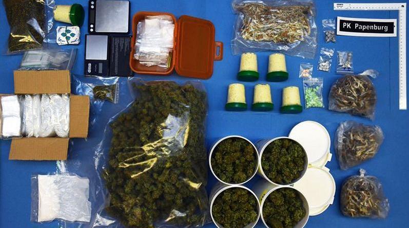 Werlte - Polizei beschlagnahmt Betäubungsmittel - Foto: Polizei