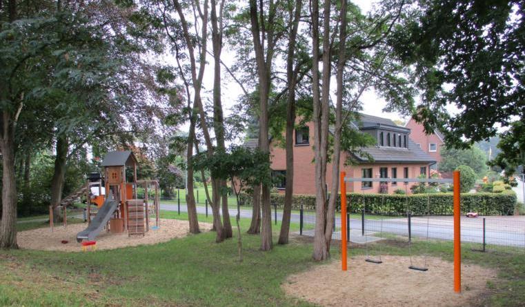 An der Kolkstraße ist ein neuer Spielplatz entstanden. Foto: Stadt Lingen
