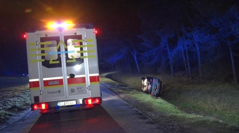 Geeste - 14-jährige und 18-jährige bei Verkehrsunfall am Parkplatz Speicherbecken verletzt - Foto: NordNews.de