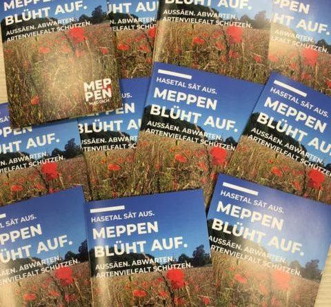 """""""Hasetal sät aus – Meppen blüht auf"""". Mit dieser Aktion möchte die Stadt Meppen den Meppenerinnen und Meppenern die Möglichkeit geben, auch auf privaten Flächen regionale Wildblumen auszusäen und so die Artenvielfalt zu schützen. Foto: Stadt Meppen"""