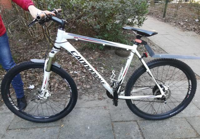 Lingen - Eigentümer gesucht - Cannondale Mountainbike sichergestellt - Foto: Polizei