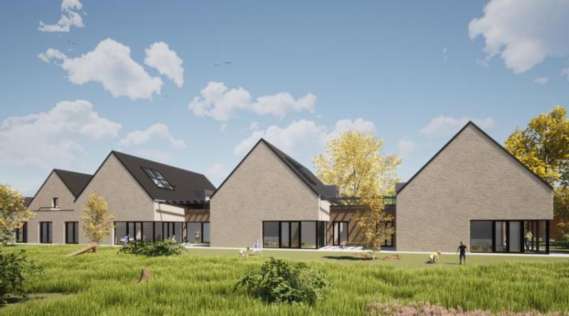 So soll die neue Kita in Emmeln einmal aussehen. Eine zukünftige Erweiterung wird so möglich bleiben. Foto: Architekturbüro Jens Meyerrose aus Haren.