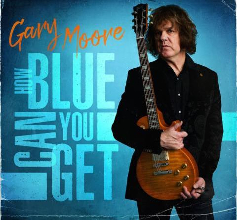"""GARY MOORE mit dem Album """"How Blue Can You Get"""""""