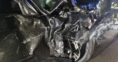 Meppen - Alkohol am Steuer - drei Verletzte bei Unfall auf der B70 - Foto: NordNews.de Übersicht1