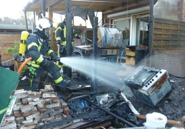 Feuerwehr verhindert in letzter Sekunde Brand von Wohnhaus - Foto: Hendrik Brink, Feuerwehr Nordhorn
