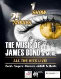 The Music Of James Bond! Erleben Sie rasante Action und erstklassige Live-Musik am 04.11.2021 in Lingen, Theater an der Wilhelmshöhe. Tickets erhältlich im Theater, bei der Lingener Tagespost und an allen bekannten VVK-Stellen sowie unter www.musicofjamesbond.de Tickethotline: 0365-5481830.
