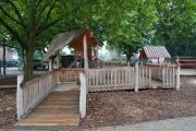 Inklusionsspielanlage der Overbergschule ermöglicht allen Kindern das gemeinsame Spielen - Foto: Stadt Lingen