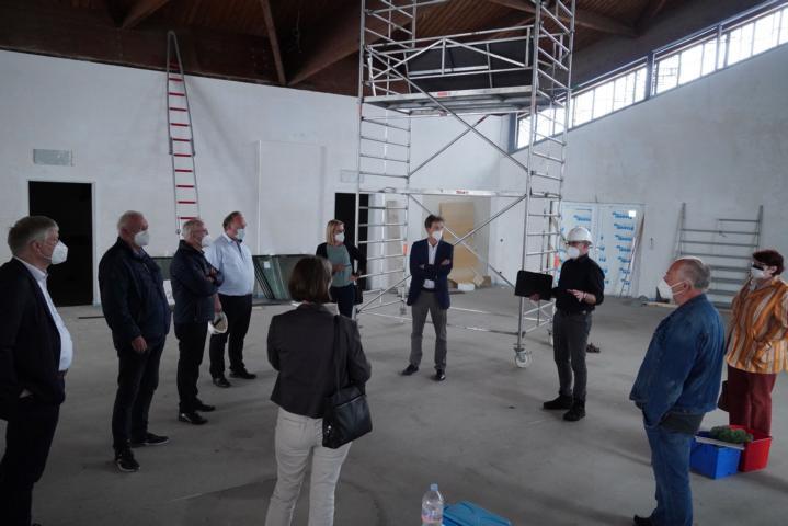 Kita in Kirche: Kita St. Michael nimmt Formen an - Investition von 5 Millionen Euro – Umzug nach den Sommerferien - Foto: Stadt Lingen
